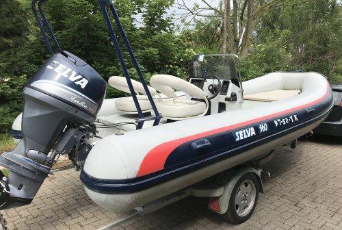 Selva 560 + 100 Pk Selva (yamaha), RIB en opblaasboot  for sale by Saleboot BV