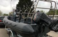 RIB Aqualand 620, RIB en opblaasboot