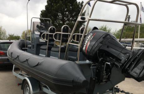 RIB Aqualand 620, RIB en opblaasboot RIB Aqualand 620 te koop bij Tornado Sailing Makkum