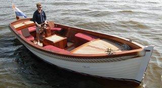 Kapiteinssloep 700 Classic, Schlup Kapiteinssloep 700 Classic te koop bij Jachtmakelaardij Wolfrat