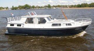 Blauwe Handkruiser 1170, Motoryacht Blauwe Handkruiser 1170 te koop bij Jachtmakelaardij Wolfrat