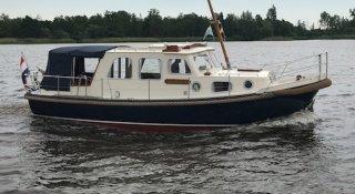 Boarnstream Vlet 900 OK, Motoryacht Boarnstream Vlet 900 OK te koop bij Jachtmakelaardij Wolfrat