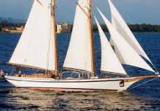 Lunstroo Schooner Type Herreshoff, Zeiljacht  for sale by White Whale Yachtbrokers