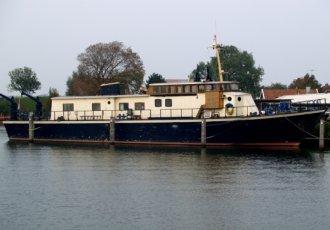Mijnenveger Type Houtepen, Varend woonschip Mijnenveger Type Houtepen te koop bij White Whale Yachtbrokers - Willemstad