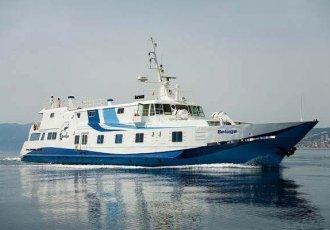 Beluga Steel Passenger Ship, Motorjacht Beluga Steel Passenger Ship te koop bij White Whale Yachtbrokers