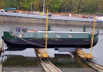 Van Kerckhoven Kanaalboot, Varend woonschip Van Kerckhoven Kanaalboot te koop bij White Whale Yachtbrokers - Willemstad