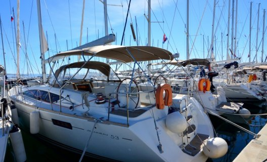 Jeanneau 53, Sailing Yacht for sale by White Whale Yachtbrokers - Croatia