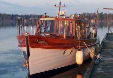 Freeman Attrill 40ft TSDY, Klassiek/traditioneel motorjacht  for sale by White Whale Yachtbrokers