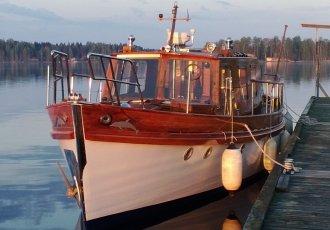 Freeman Attrill 40ft TSDY, Klassiek/traditioneel motorjacht Freeman Attrill 40ft TSDY te koop bij White Whale Yachtbrokers