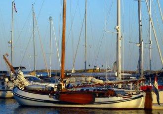 Hoek Design Lemsteraak 14.30, Plat- en rondbodem, ex-beroeps zeilend Hoek Design Lemsteraak 14.30 te koop bij White Whale Yachtbrokers - Sneek