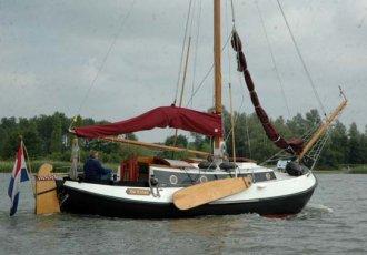 Lemsteraak 9.10, Plat- en rondbodem, ex-beroeps zeilend Lemsteraak 9.10 te koop bij White Whale Yachtbrokers - Sneek