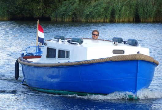 Aluminium Coomans Sloep 730 Kajuit, Sloep  for sale by White Whale Yachtbrokers - Vinkeveen