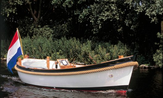 Van Wijk 621 Classic, Schlup for sale by White Whale Yachtbrokers - Vinkeveen