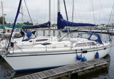Hunter 33.5, Segelyacht  for sale by White Whale Yachtbrokers - Willemstad