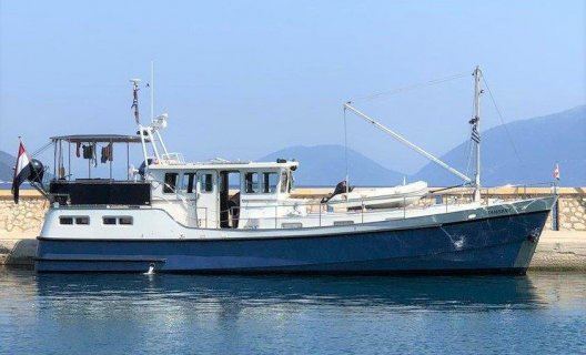 GB 52 Motortrawler, Motoryacht for sale by White Whale Yachtbrokers - Willemstad