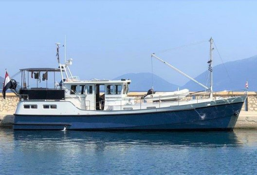 GB 52 Motortrawler, Motorjacht  for sale by White Whale Yachtbrokers - Willemstad
