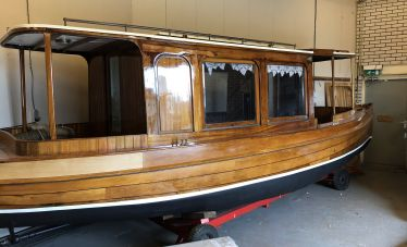 Salonboot / Notarisboot Teeuw Rotterdam 1926, Sloep  for sale by White Whale Yachtbrokers - Vinkeveen