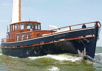 Scharhorn Spitsgatkotter, Motorjacht Scharhorn Spitsgatkotter te koop bij White Whale Yachtbrokers - Vinkeveen