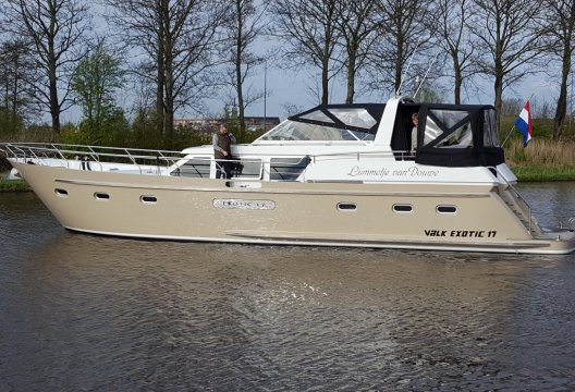 Van Der Valk Exotic 1700, Motorjacht  for sale by White Whale Yachtbrokers - Vinkeveen