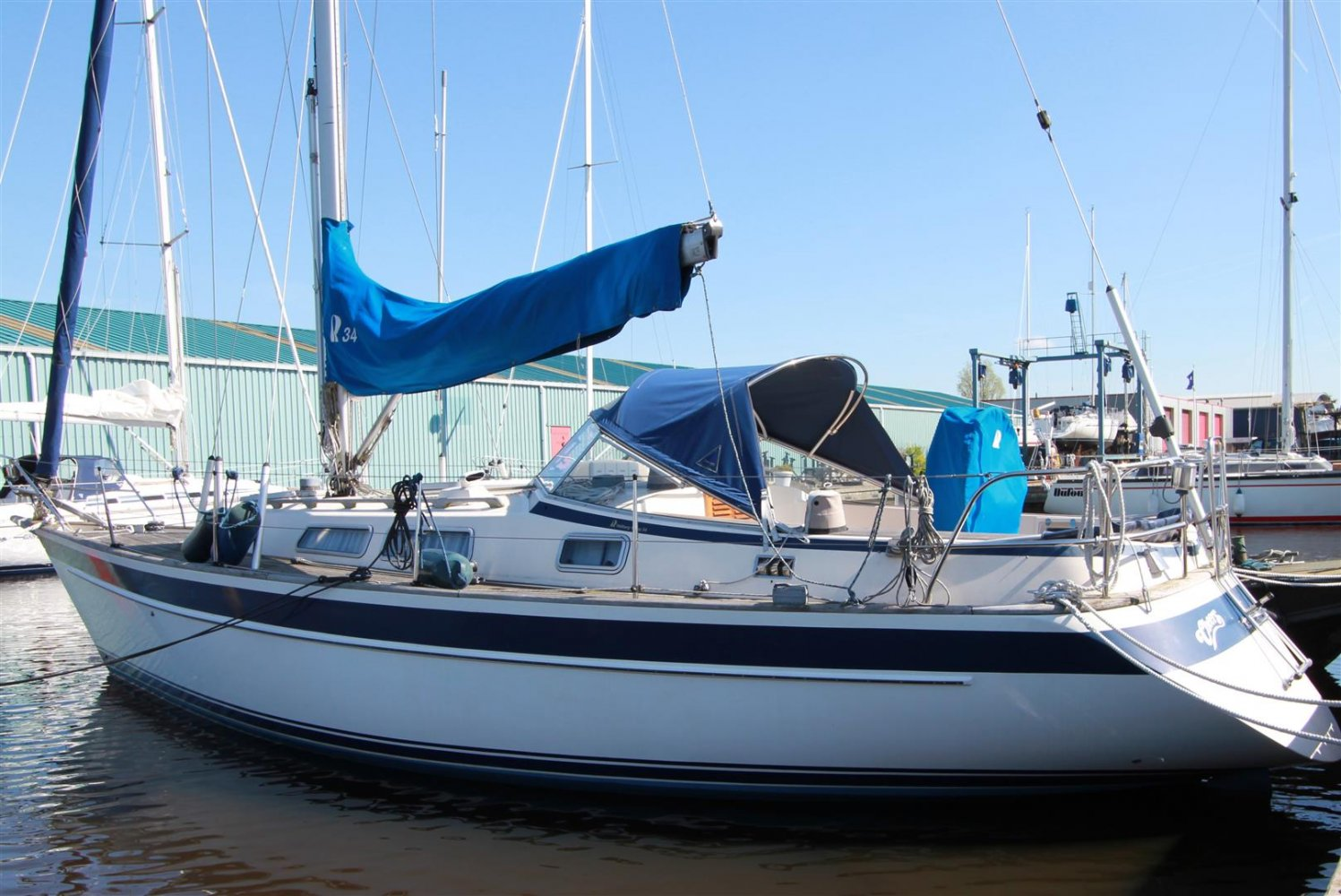 Hallberg Rassy 34 sailboat for sale | White Whale Yachtbrokers