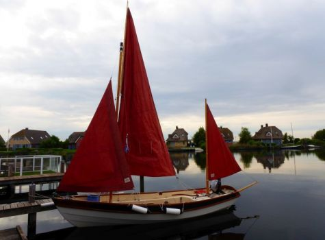 Drascombe Lugger, Open zeilboot  for sale by Skipshandel Stavoren