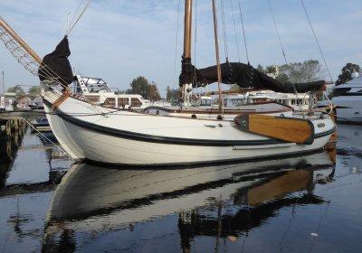 Lemsteraak Andre Hoek, Plat- en rondbodem, ex-beroeps zeilend Lemsteraak Andre Hoek te koop bij Wehmeyer Yacht Brokers