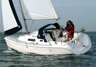 Hunter 27 Twin-keel, Zeiljacht Hunter 27 Twin-keel te koop bij Wehmeyer Yacht Brokers