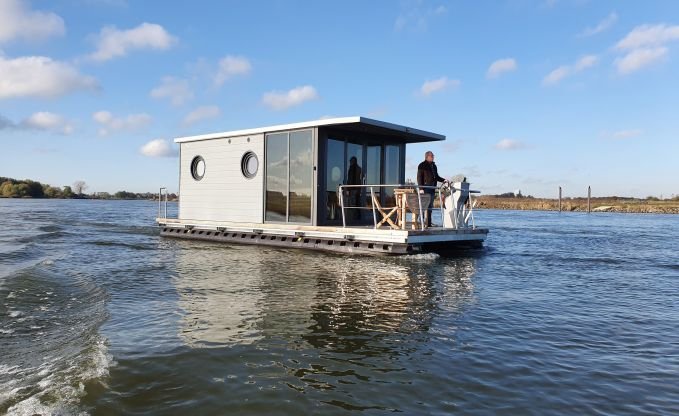 La Mare Houseboats Apartboat M, Motorjacht for sale by Schepenkring Hattem