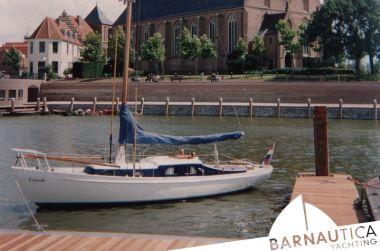 Stalen S Spant, Klassiek scherp jacht Stalen S Spant te koop bij Barnautica Yachting