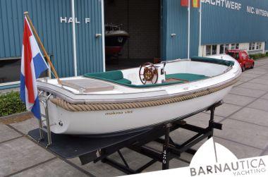 ZZ Teruggetrokken Makma Vlet 700, Sloep ZZ Teruggetrokken Makma Vlet 700 te koop bij Barnautica Yachting