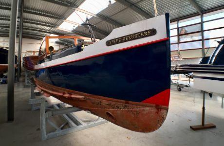 Notarisoot 808, Klassiek/traditioneel motorjacht Notarisoot 808 te koop bij Prins van Oranje Jachtbemiddeling