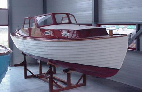 Sneepa Plumps, Klassiek/traditioneel motorjacht Sneepa Plumps te koop bij Prins van Oranje Jachtbemiddeling