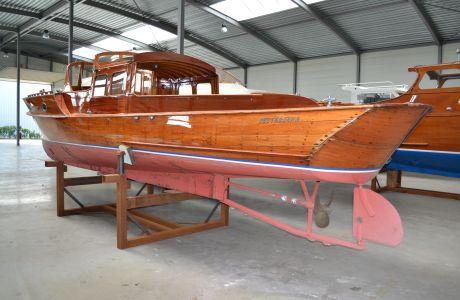 Pettersson Salonboot, Klassiek/traditioneel motorjacht Pettersson Salonboot te koop bij Prins van Oranje Jachtbemiddeling