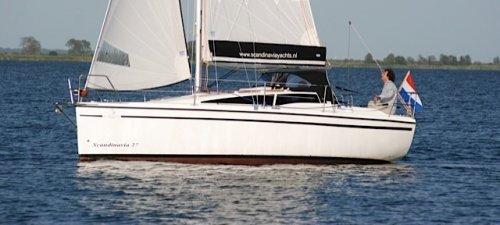 Scandinavia 27, Zeiljacht Scandinavia 27 te koop bij Jachtmakelaardij Kappers
