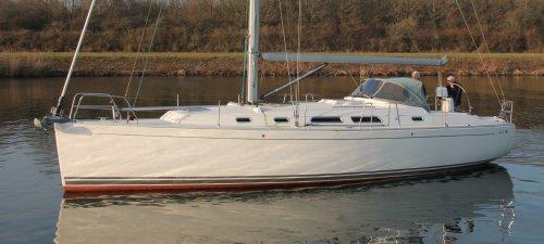 Hanse 400, Zeiljacht Hanse 400 te koop bij Jachtmakelaardij Kappers