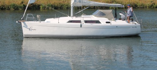 Hanse 325, Sailing Yacht Hanse 325 for sale at Jachtmakelaardij Kappers