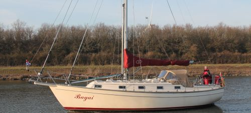 Island Packet 35 38, Zeiljacht  for sale by Jachtmakelaardij Kappers