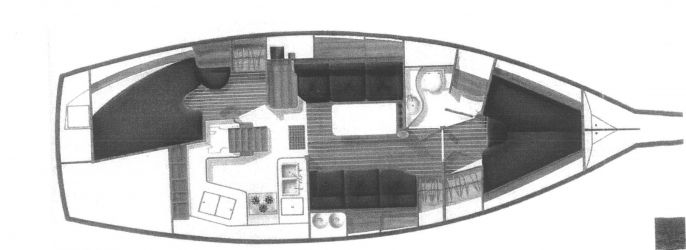 Island Packet 35 38