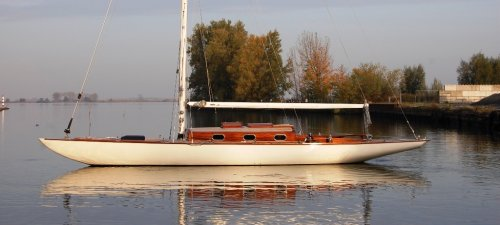 Burmester Seefahrtkreuzer, Zeiljacht Burmester Seefahrtkreuzer te koop bij Jachtmakelaardij Kappers