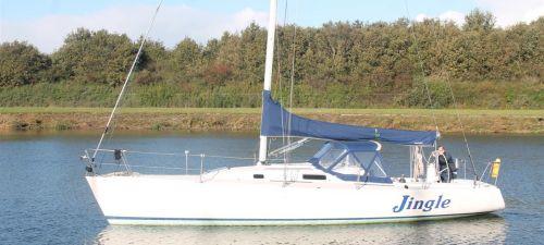 J-Boats J-105, Zeiljacht  for sale by Jachtmakelaardij Kappers
