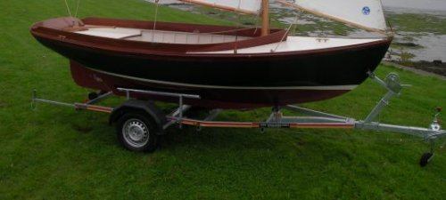 Herreshoff 12,5, Open sailing boat Herreshoff 12,5 te koop bij Jachtmakelaardij Kappers