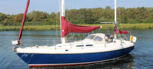Contest 36 Ketch, Zeiljacht  for sale by Jachtmakelaardij Kappers