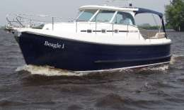 Kent 28 Launch HT, Motor Yacht Kent 28 Launch HT for sale by Jachtbemiddeling van der Veen - Terherne