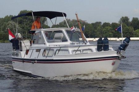 Valkkruiser Sport, Motoryacht Valkkruiser Sport zum Verkauf bei Jachtbemiddeling van der Veen - Terherne