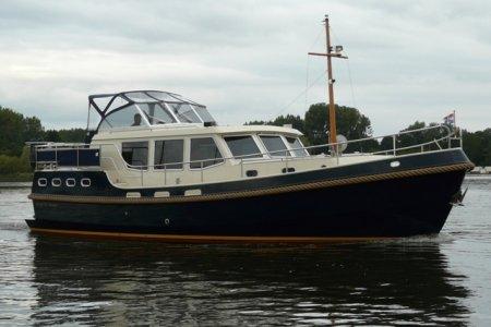 Gruno 41 Classic, Motorjacht Gruno 41 Classic te koop bij Jachtbemiddeling van der Veen - Terherne