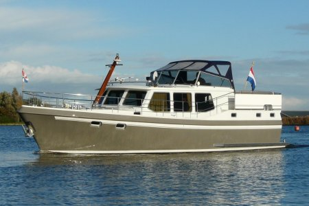 Privateer 43, Motor Yacht Privateer 43 for sale at Jachtbemiddeling van der Veen - Terherne