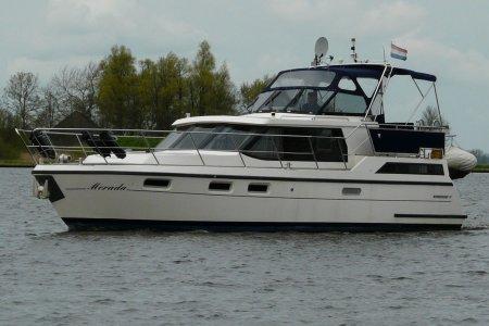 Boorncruiser 41 New Line, Motorjacht Boorncruiser 41 New Line te koop bij Jachtbemiddeling van der Veen - Terherne