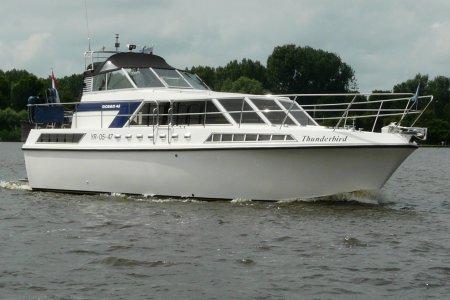 Broom Ocean 42, Motorjacht Broom Ocean 42 te koop bij Jachtbemiddeling van der Veen - Terherne