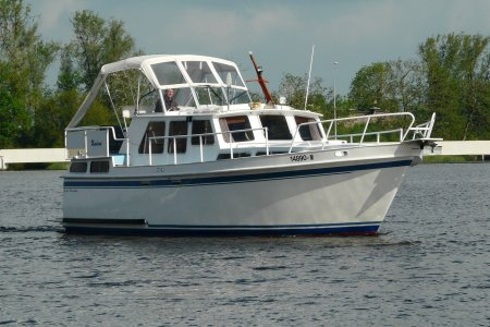 Super Boorn Kruiser 1150, Motorjacht Super Boorn Kruiser 1150 te koop bij Jachtbemiddeling van der Veen - Terherne