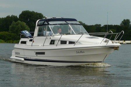 Marex 280 Holiday, Motorjacht Marex 280 Holiday te koop bij Jachtbemiddeling van der Veen - Terherne
